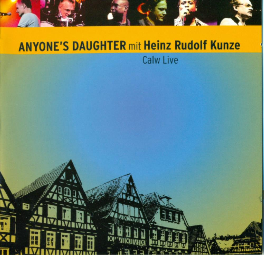 Calw Live by ANYONE'S DAUGHTER album cover