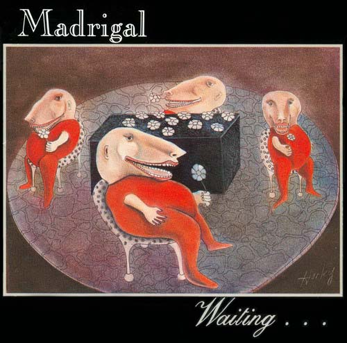 Madrigal - Waiting....  CD (album) cover