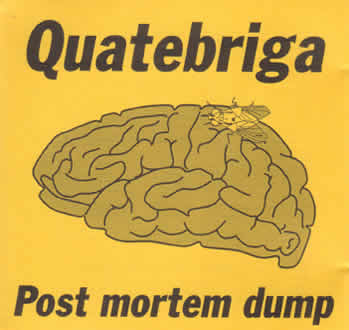Post Mortem Dump by QUATEBRIGA album cover