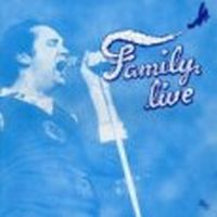 Family Live album cover