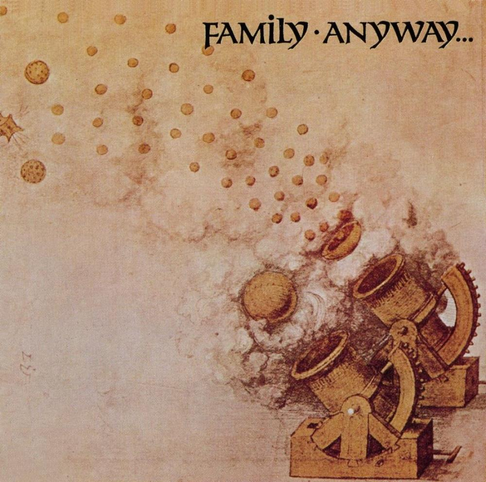 Family - Anyway CD (album) cover