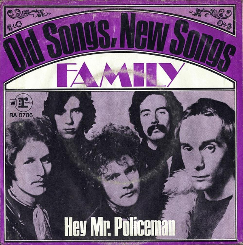 Old Songs, New Songs by FAMILY album cover