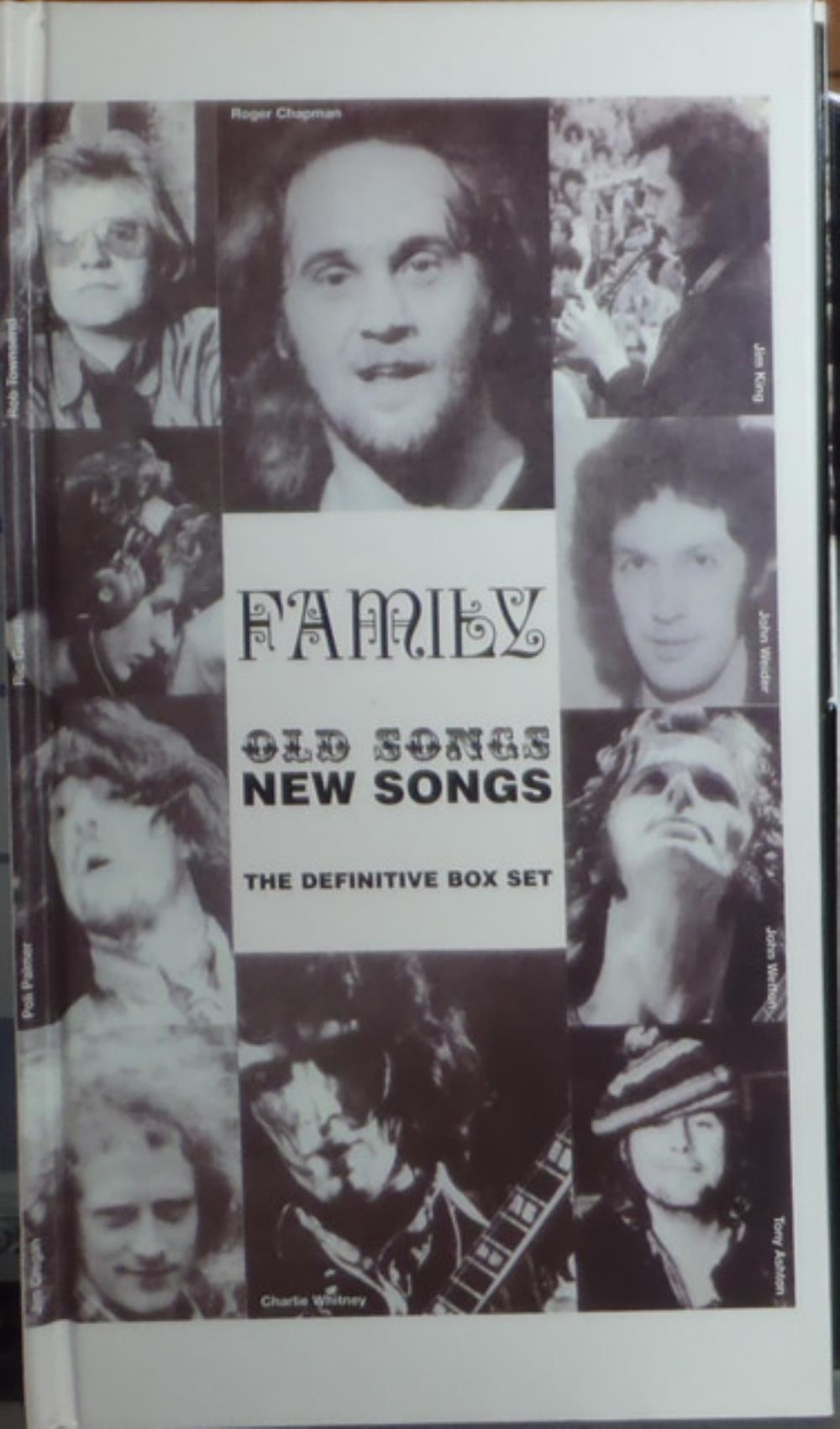 Family Old Songs New Songs, The Definitive Box Set album cover
