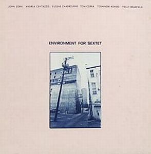 John Zorn Environment For Sextet (with Andrea Centazzo, Eugene Chadbourne, Tom Cora, Toshinori Kondo, Polly Bradfield ) album cover