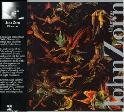 John Zorn Chimeras album cover
