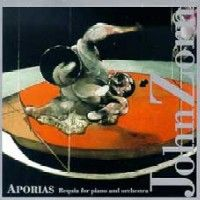 John Zorn Aporias: Requia For Piano And Orchestra album cover