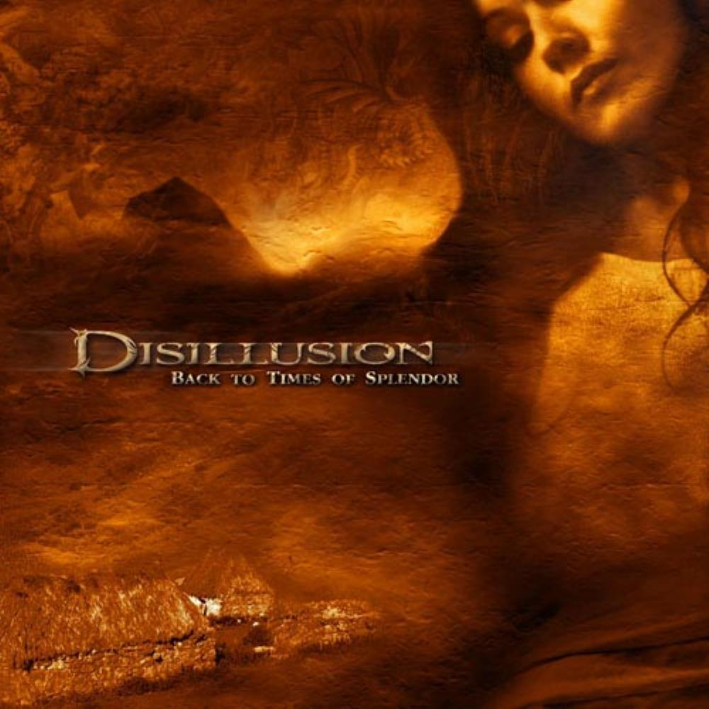 Disillusion - Back To Times Of Splendor CD (album) cover
