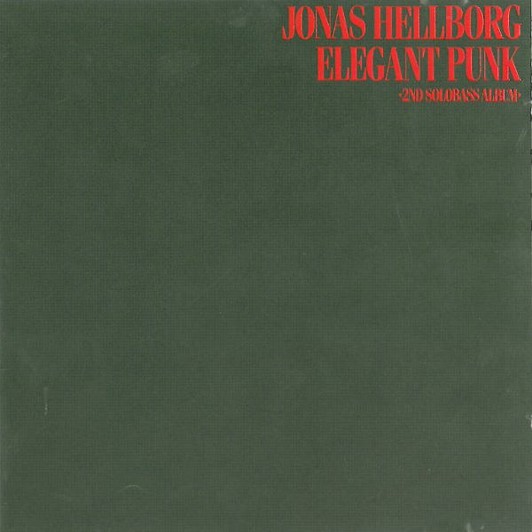 Jonas Hellborg Elegant Punk album cover
