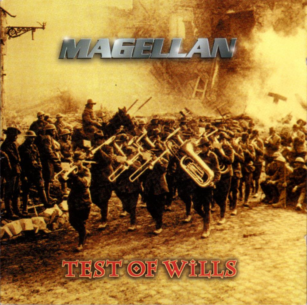 Magellan Test Of Wills album cover