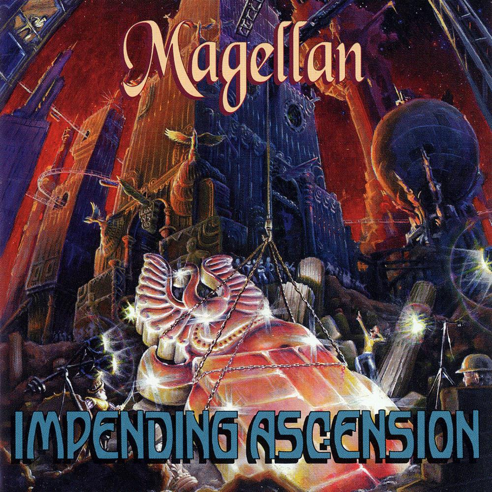 Impending Ascension by MAGELLAN album cover