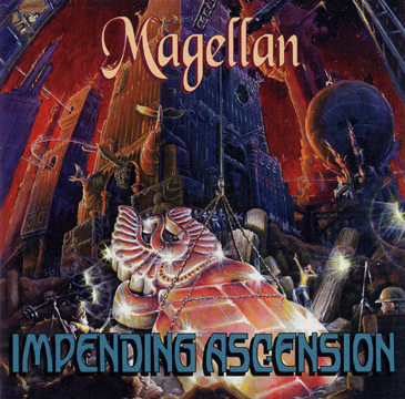 Magellan - Impending Ascension CD (album) cover