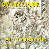 Svanfridur - What's Hidden There ? CD (album) cover