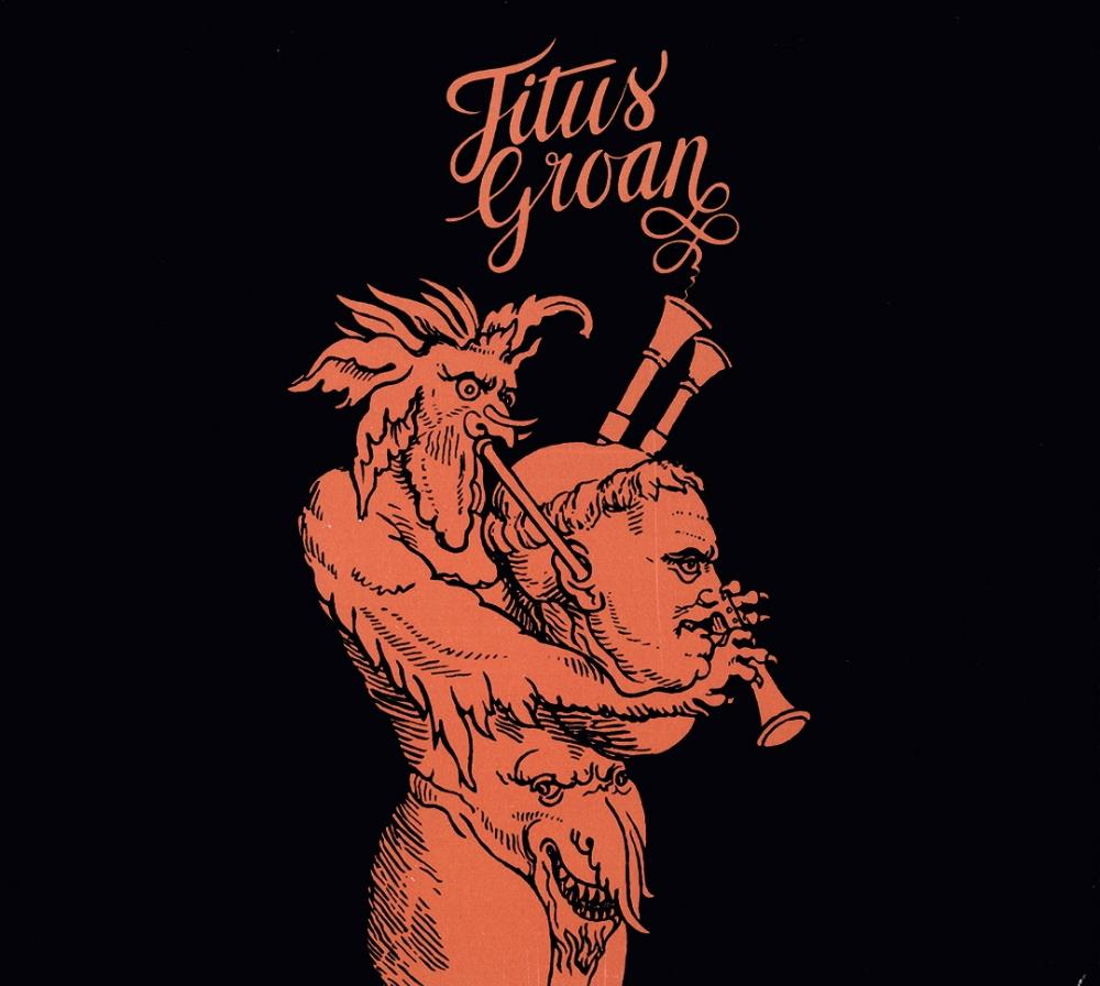 Titus Groan - Titus Groan CD (album) cover