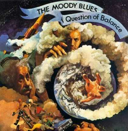 The Moody Blues - A Question of Balance CD (album) cover