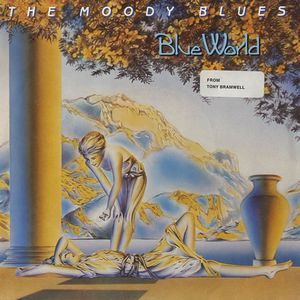The Moody Blues Blue World album cover