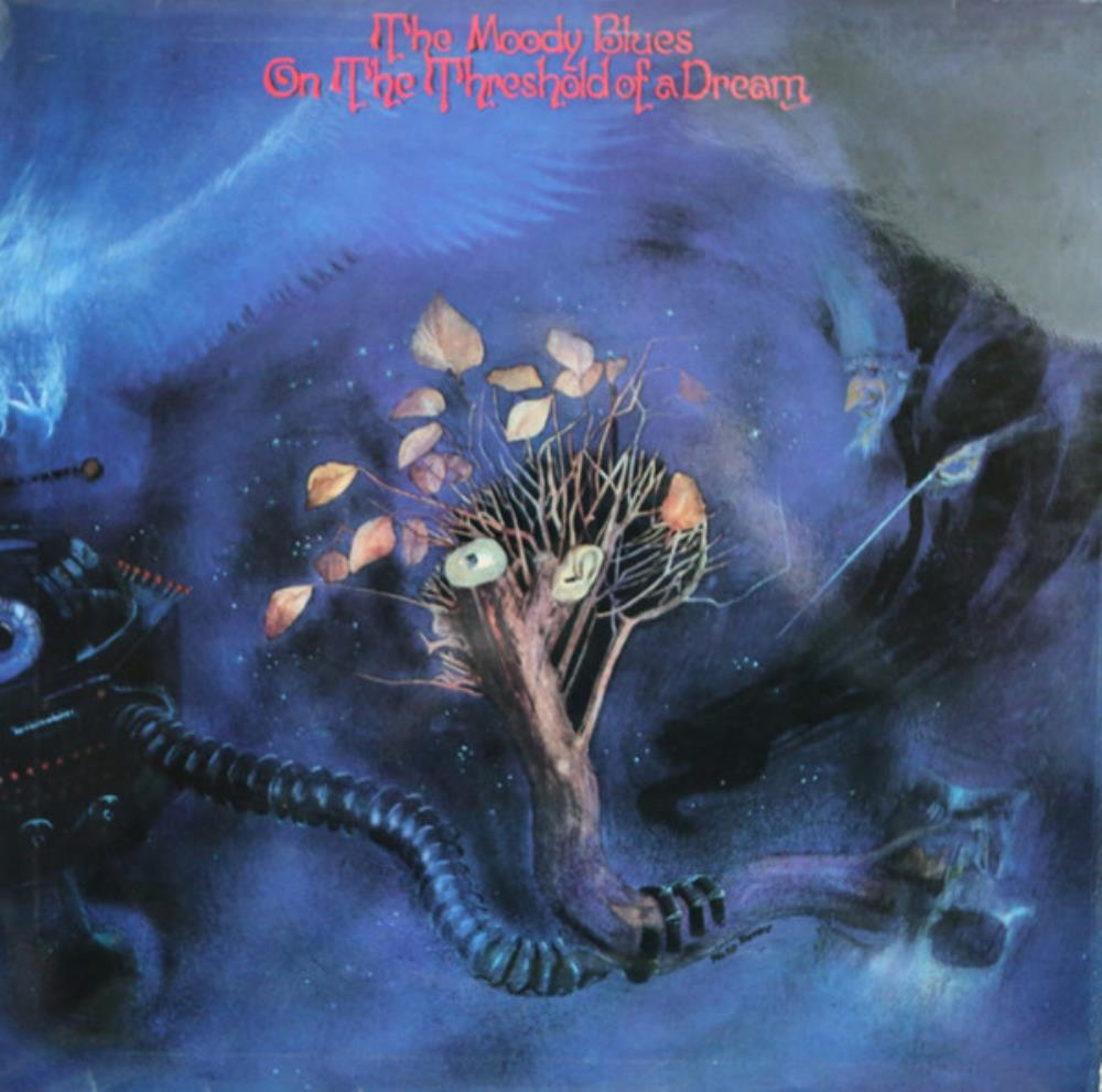 The Moody Blues On The Threshold Of A Dream album cover