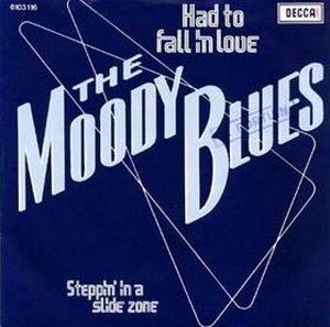 The Moody Blues - Had to Fall in Love CD (album) cover