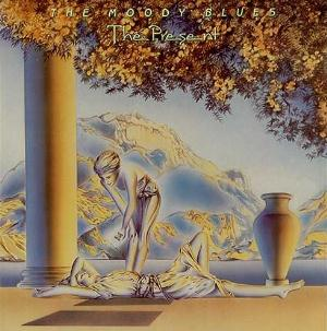 The Present  by MOODY BLUES, THE album cover