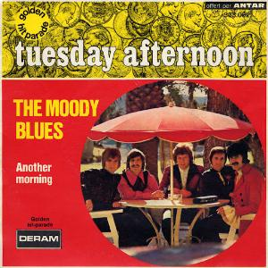 The Moody Blues Tuesday Afternoon album cover