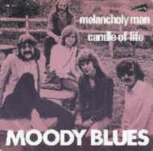 The Moody Blues Melancholy Man album cover