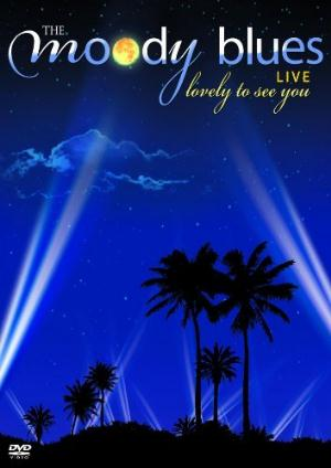 Lovely To See You Live (DVD) by MOODY BLUES, THE album cover