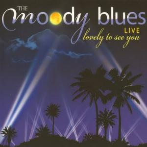 Lovely To See You Live by MOODY BLUES, THE album cover