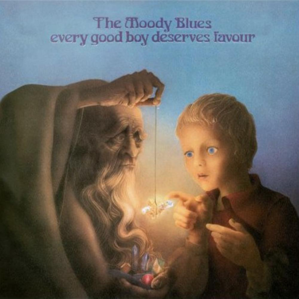 The Moody Blues Every Good Boy Deserves Favour album cover
