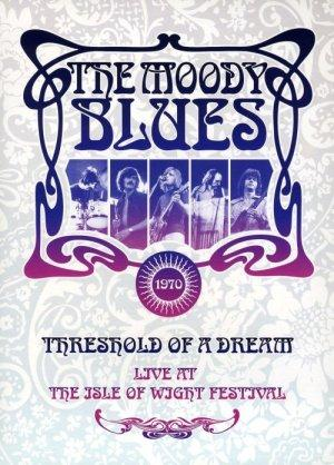 Threshold of a Dream - Live at the Isle of Wight 1970 by MOODY BLUES, THE album cover