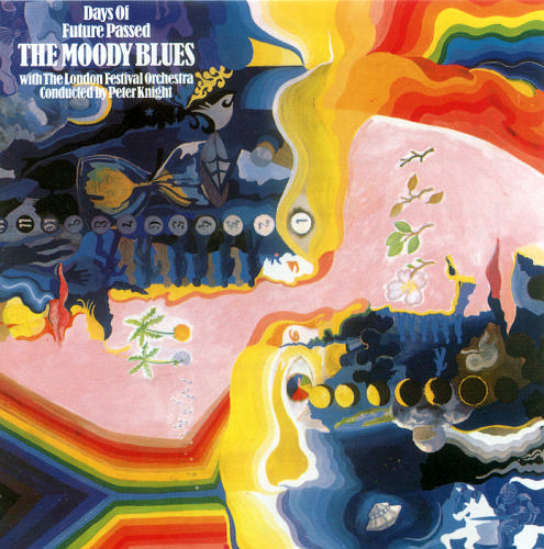 The Moody Blues Days Of Future Passed  album cover