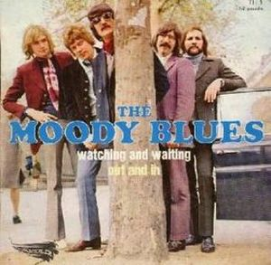The Moody Blues - Watching and Waiting CD (album) cover