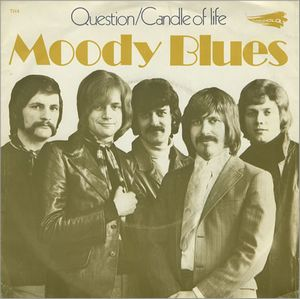 The Moody Blues Question album cover
