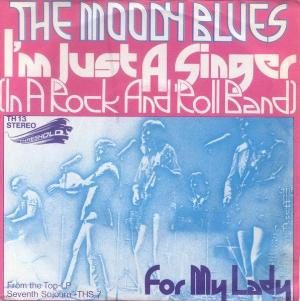 The Moody Blues - I'm Just a Singer (In a Rock and Roll Band) CD (album) cover