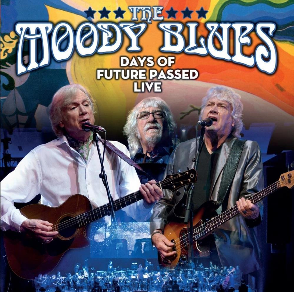 The Days of Future Passed Live by MOODY BLUES, THE album cover