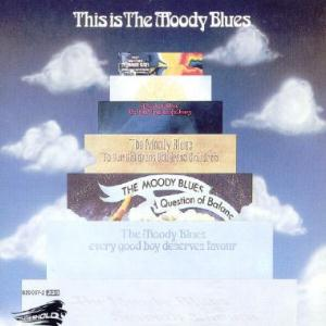The Moody Blues - This Is The Moody Blues  CD (album) cover