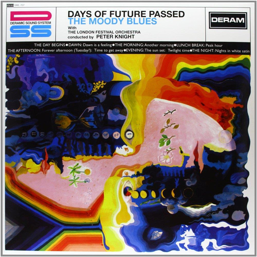 The Moody Blues - Days Of Future Passed CD (album) cover