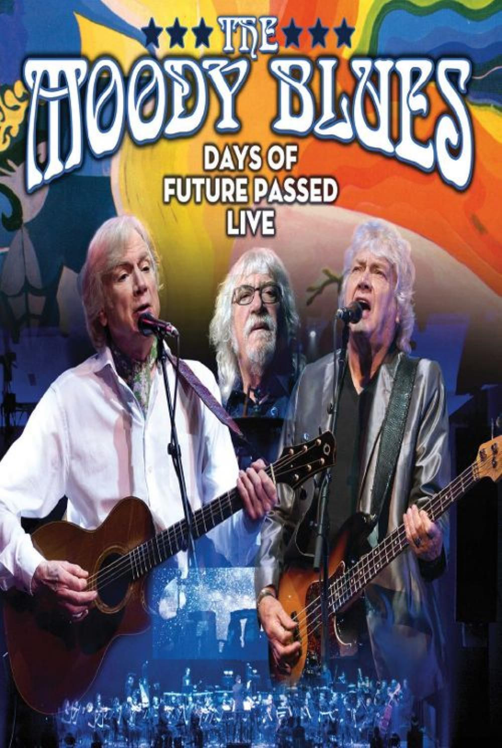 The Moody Blues Days of Future Passed Live album cover