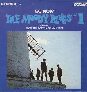 The Moody Blues Go Now! album cover