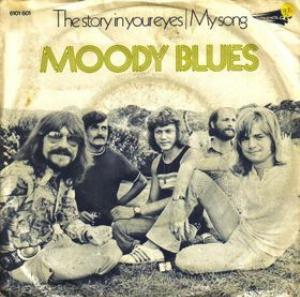 The Moody Blues The Story In Your Eyes album cover