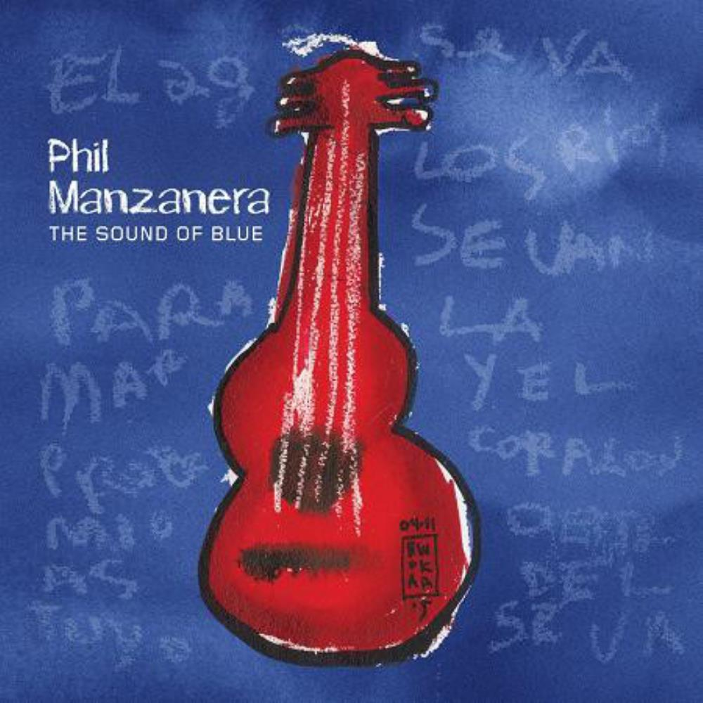 Phil Manzanera - The Sound Of Blue CD (album) cover