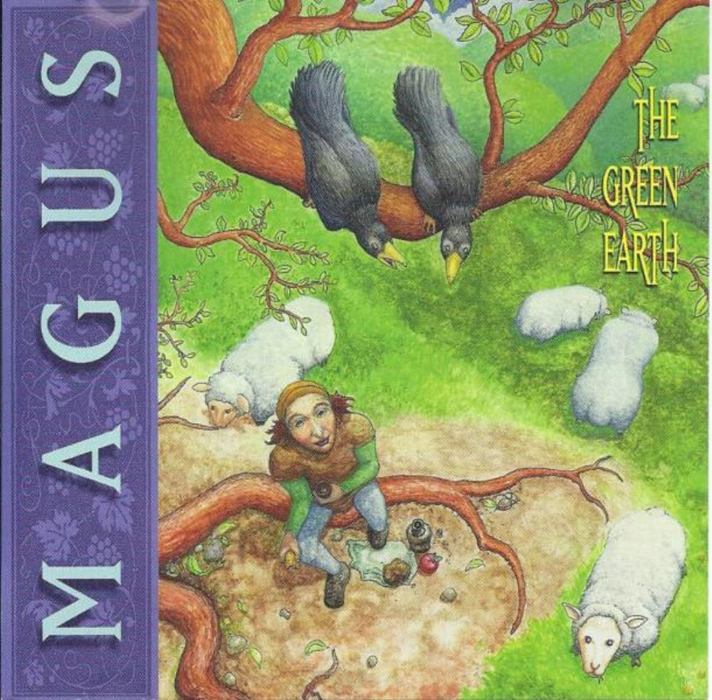 Magus / The Winter Tree - The Green Earth CD (album) cover