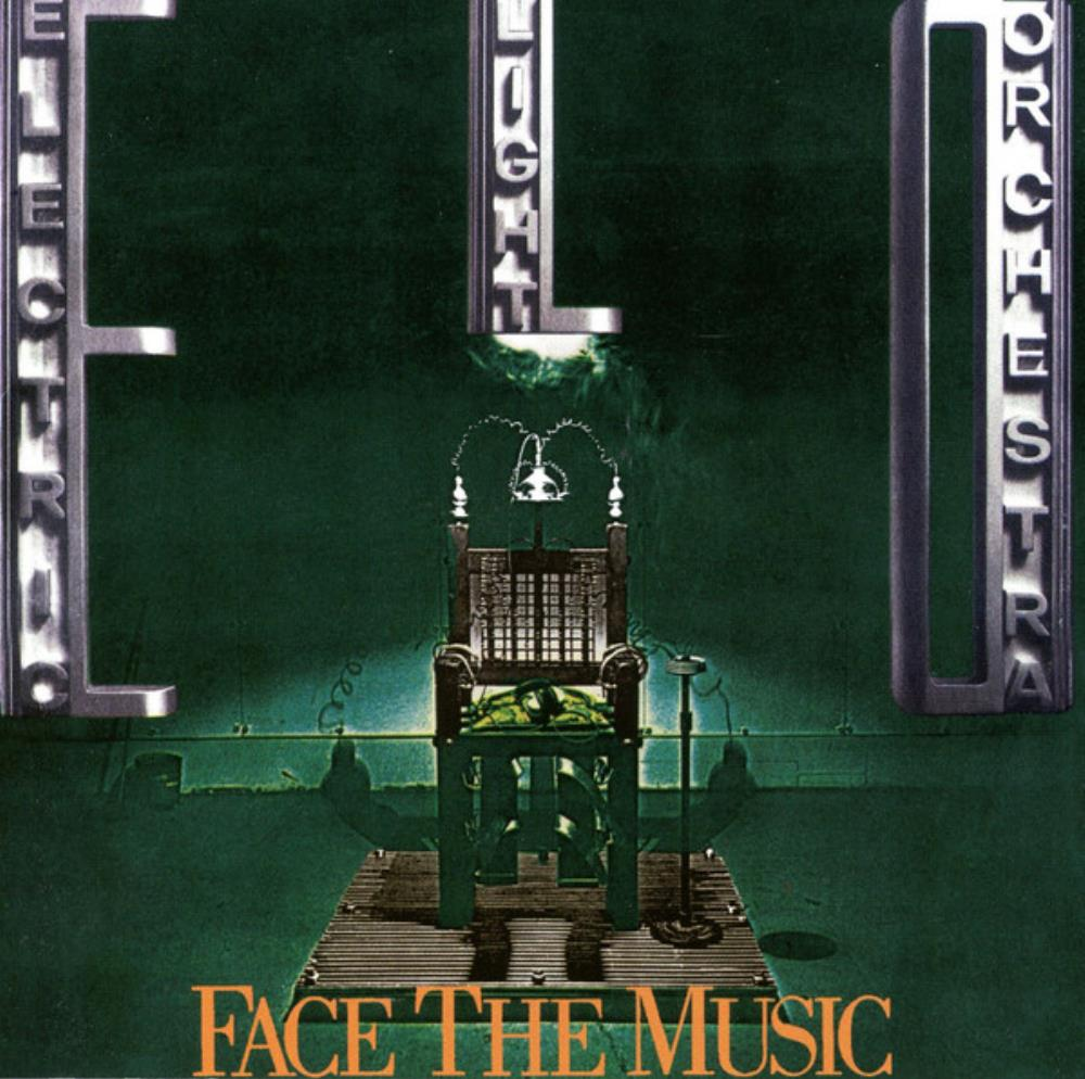 Face the Music by ELECTRIC LIGHT ORCHESTRA album cover