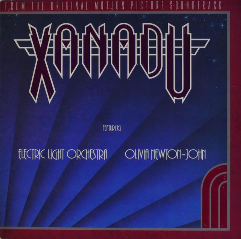 Electric Light Orchestra - ELO & Olivia Newton-John: Xanadu (OST) CD (album) cover
