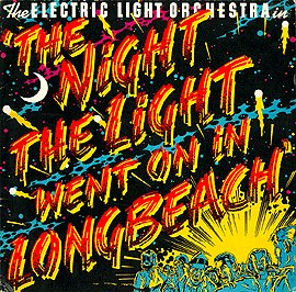 The Night the Light Went On In Long Beach by ELECTRIC LIGHT ORCHESTRA album cover