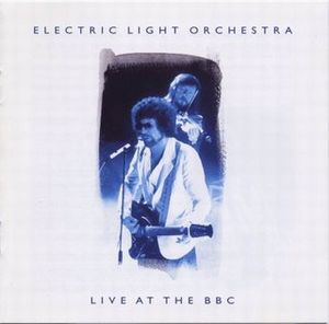 Electric Light Orchestra Live at the BBC album cover