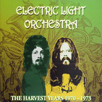 Electric Light Orchestra The Harvest Years 1970-1973 album cover
