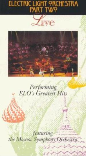 Electric Light Orchestra Live (Electric Light Orchestra Part II: post ELO) (VHS) album cover