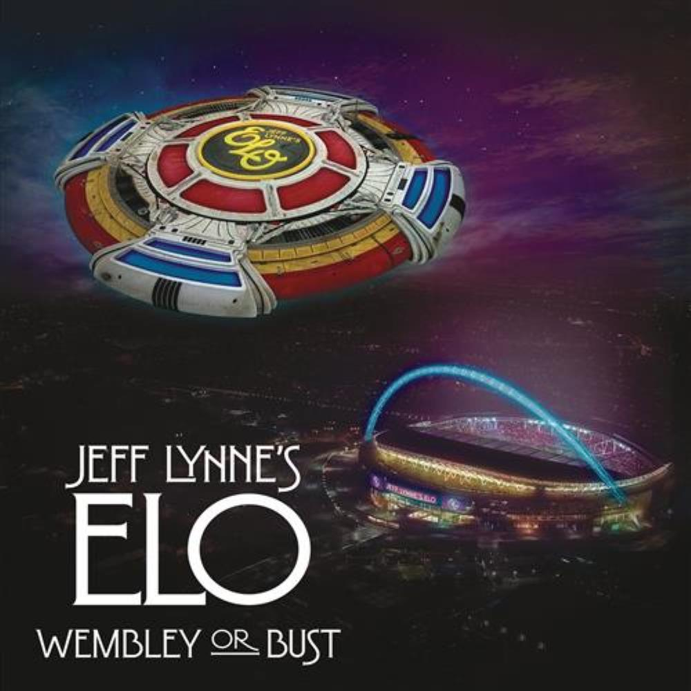 Electric Light Orchestra Jeff Lynne's ELO - Wembley or Bust album cover