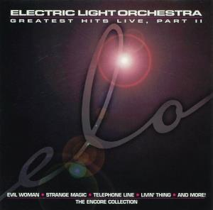 Electric Light Orchestra Greatest Hits Live, Part II: The Encore Collection album cover