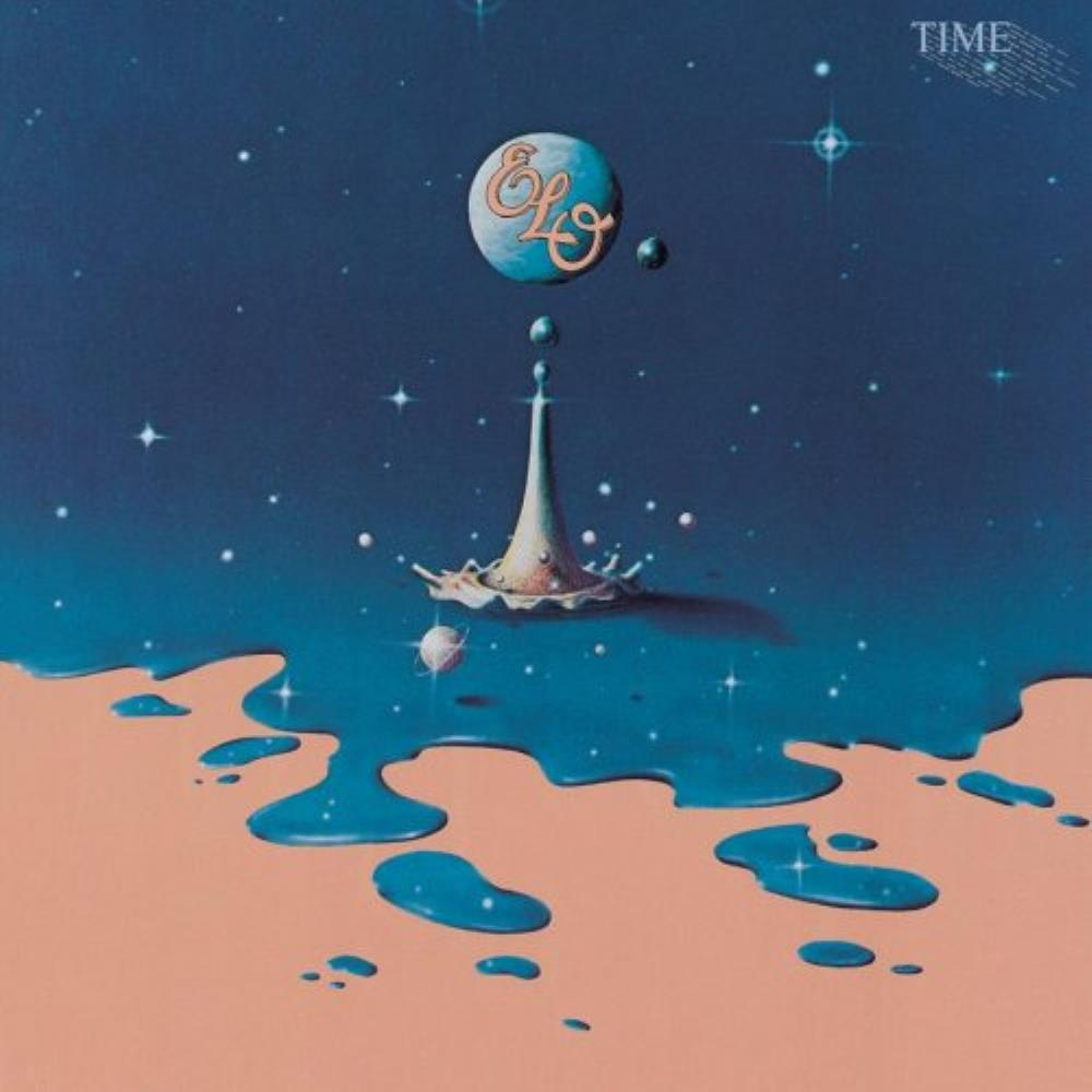 Time by ELECTRIC LIGHT ORCHESTRA album cover