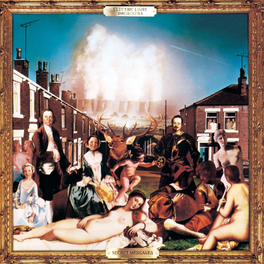 Electric Light Orchestra - Secret Messages CD (album) cover